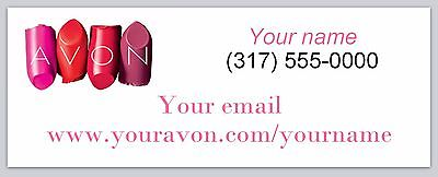 30 Personalized Address Labels Avon Representative Buy 3 get 1 free (ac 950)