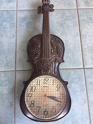 Wall clock - Imitation Violin
