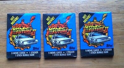 Back to the Future Trading Card Packs x 3