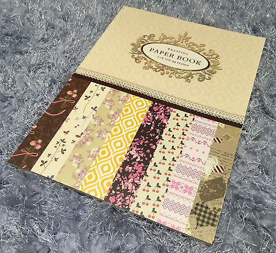 Floral Scrapbooking Paper Book Gift Wrapping Photo Romantic Decoration Crafting