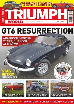 Triumph World Magazine April/may 2017 (Brand New Back Issue)