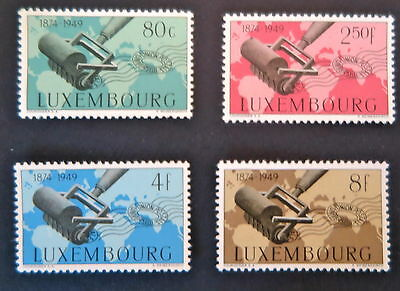 Luxembourg 1949 Upu Stamps