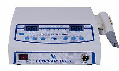 New Professional chiropractic physiotherapy ultrasound therapy machine 1mhz