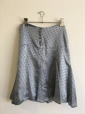 Alannah Hill Size 8 Blue Skirt