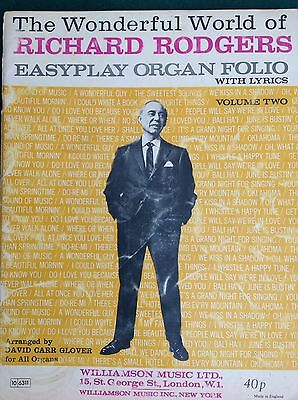 Richard Rodgers Folio With Chords And Organ Settings Volume 2