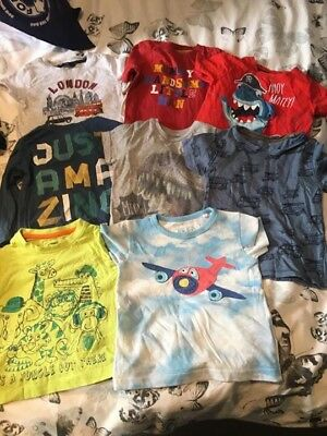 Top T Shirt Bundle 12-18 Month Boys Next Tu Pep And Co