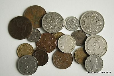 100 Grams  Of Mixed World Coin's General Mix Modern World #jaab4