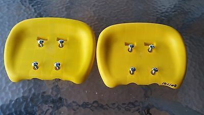 Hills Playtime Swing Set -Parts Only - Glide Swing Seats - Yellow - New