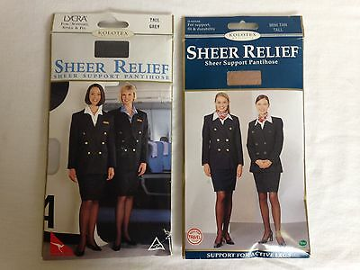 2 x packs of Kolotex Sheer relief pantyhose Size Tall
