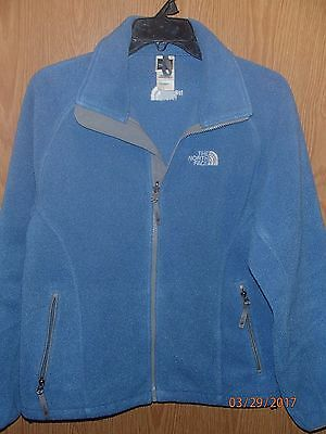 Womens Nice Blue The North Face Full Zip Jacket Coat Size M