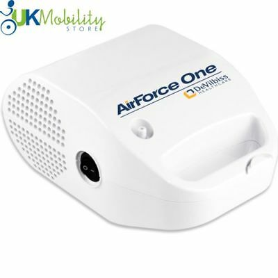 AirForce One Compression Nebuliser Breathing Aid 5.1L/Min Asthma COPD Respirator