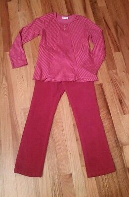 2 pieces.  Naartjie girl pants and t-shirt long sleeve size 8.