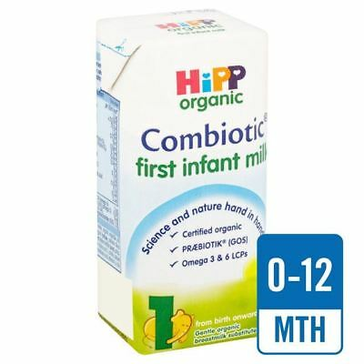 HiPP First Infant Milk 200ml (Pack of 6)