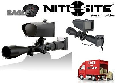 Nite Site EAGLE--Complete Night Vision Conversion--Fast FREE Postage!- 500m View