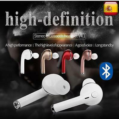 Mini Auriculares Bluetooth 4.1 microfono inalambrico universal Samsung iPhone LG