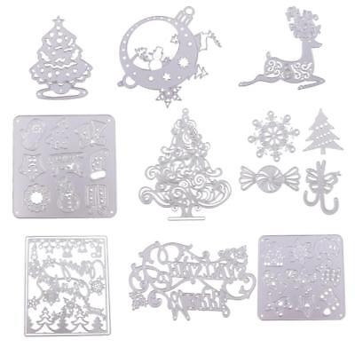 Hot 9 Types Metal Cutting Dies Scrapbook Paper Card Crafts Embossing Stencil DIY