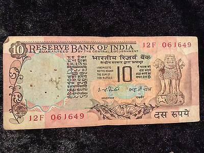 Old Indian Bank Notes