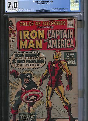 Tales of Suspense # 59 CGC 7.0 Cream to Off White Pages. UnRestored