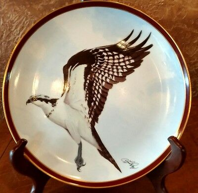 1984 OSPREY by C. FORD RILEY Majestic Birds of Prey Collector Plate #1596