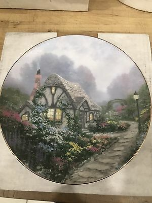 Chandler's Cottage Plate By Thomas Kinkade