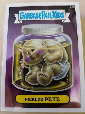 Garbage Pail Kids US Chrome Lost Series 28 Cards Mint