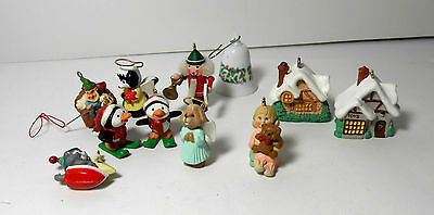 Lot of assorted Hallmark Miniature ornaments perfect for dollhouse use Toys more