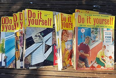 DIY Do It Yourself Practical Man House Home 25 issues No 1 March 1957 Magazines