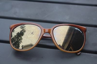 Vintage BOLLE IREX 100  396  SUNGLASSES WITH CASE Made in FRANCE