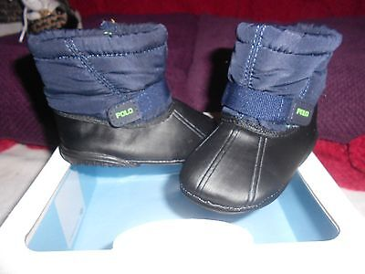 gorgeous worn once new perfect Baby Boys/Girls Ralph Lauren shoes Boots Uk 2.5