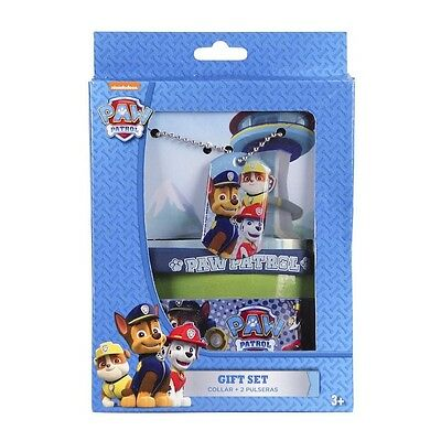 Nickelodeon Accessoires Set 3 tlg. Halskette Armband Rubberband Paw Patrol