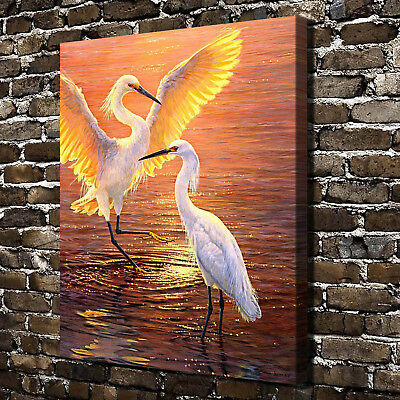 Lester Evening Duet HD Canvas Print Home Decor Paintings Wall Art Pictures