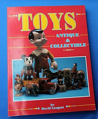 Spielzeugbuch - TOYS - Antique & Collectible by David Longest - neuwertig