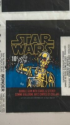 Star Wars 1977 Wax Pack X 1