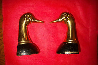 Goose Or Duck Head Bookends