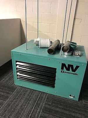 Powrmatic NV20 20KW Gas Heater - 2004, Believed Never Used