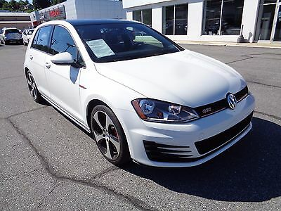 2015 Volkswagen Golf GTI Golf 2015 2015 Volkswagen Golf GTI 2.0L 4 Cylinder Hatchback One Owner Heated Mirrors