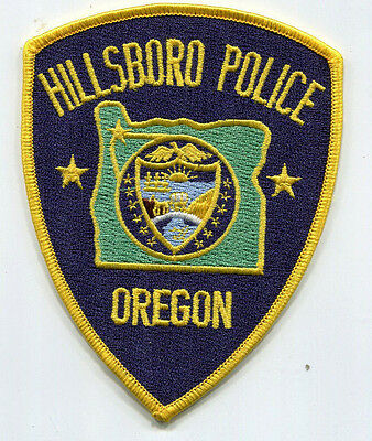 Hillsboro Oregon Police Patch /// FREE US SHIPPING!