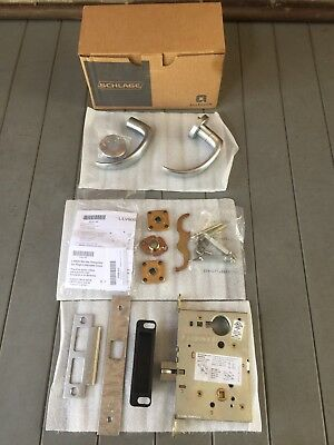 schlage l9010 17a 626 series RR l grade 1 mortise lock, passage function keyless