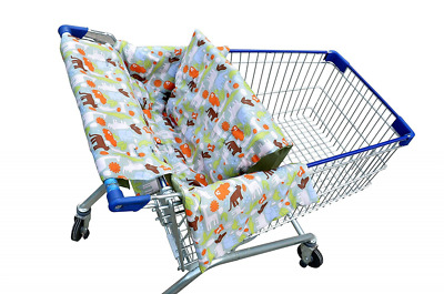 Shopping Cart Cover for Baby 3 in 1 Unisex Baby Blanket, Restaurant High Chair,