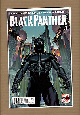 Black Panther #1  First  1St Print  Marvel Comics  2016  Nm