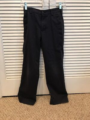 Lands End Boys Sz. 10 Slim Navy Uniform Pants