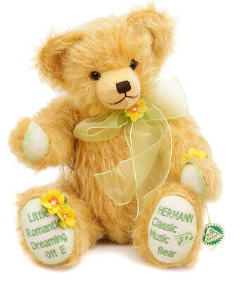 Little Romantic Dreaming limited edition teddy by Hermann Spielwaren - 14303-9