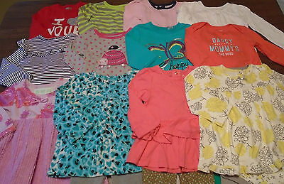 Used 23 Pc. Lot Of Baby Girl Clothes 12-18 Months Euc/vguc