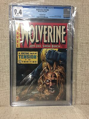 Wolverine #55  Death of Sabretooth  CGC 9.4  Cover Homage