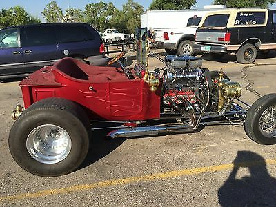 1923 Ford Model T Brass 1923 Ford T-Bucket  Roadster