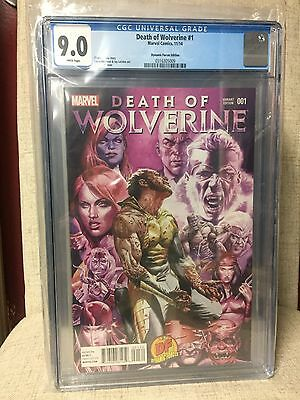 Death of Wolverine #1  CGC 9.0  Dynamic Forces