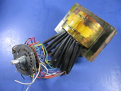 Hickok 539B Tube Tester Filament transformer and Selector Switch