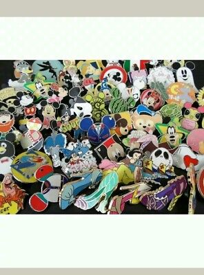 Disney Trading Pins Lot Of 50 - 100% Tradable - No Doubles-Fast U.s. Shipper