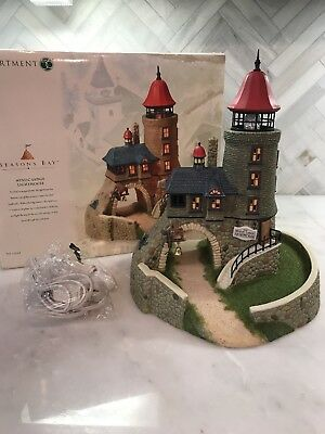 DEPARTMENT 56 Seasons Bay Mystic Ledge Lighthouse Limited Edition Box (Retired)