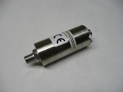 Omega Pressure Sensor Transducer 100psi, Stainless Steel 1/4 NPT, High Accuracy